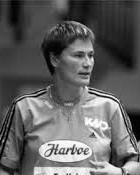 Handball player Anja Andersen