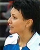 Handball player Irina Poltoratskaya