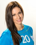 Handball player Alja Koren