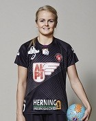 Handball player Stine Jørgensen