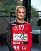 Handball player Anne-Sofie Ernstrøm