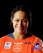 Handball player Pearl Chantal Van Der Wissel