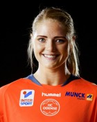 Handball player Sarah Iversen