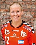 Handball player Rikke Marie Granlund
