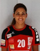 Handball player Mouna Chebbah