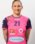 Handball player Jovana Stoiljkovic