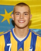 Handball player Luka Savanovic