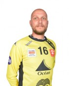 Handball player Aljosa Rezar